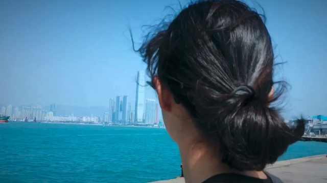 香港生活之小碧去西环码头拍鸽子