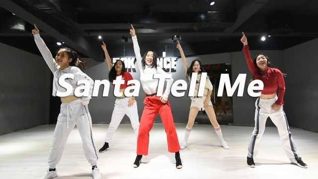 音音编舞 《santa tell me》