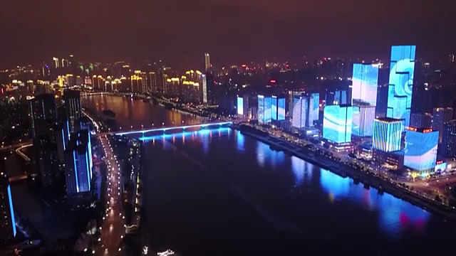 福州新年灯光秀