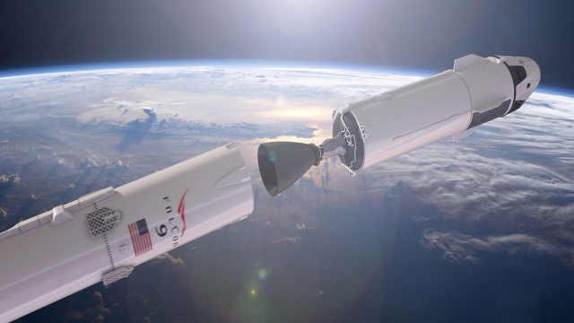 马斯克晒SpaceX最新飞船概念图