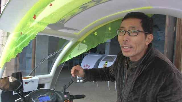 农民研发电动车保护装置获国家专利