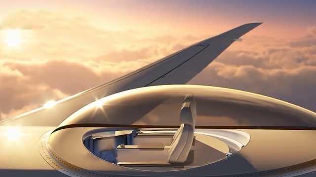 飞机上的豪华观景台,快来买票体验