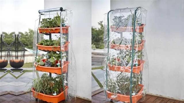造了个架子,结果把菜园搬进了家里
