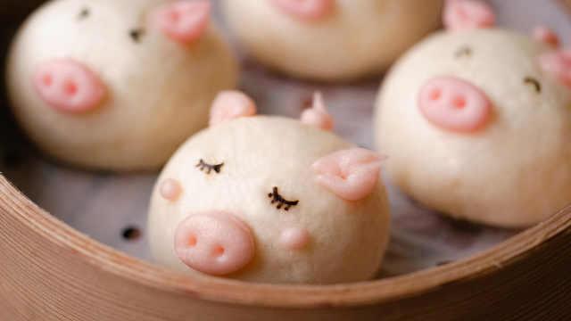 猪年做只猪,祝你们新年珠圆玉润!