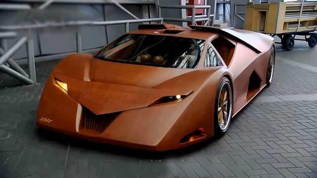 用木头能做出超级跑车?快去做一辆
