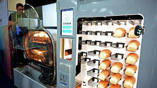 全自动烤面包机,完全不用人打理