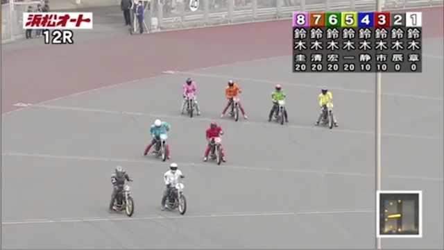 日摩托比赛选手全姓铃木,解说已疯