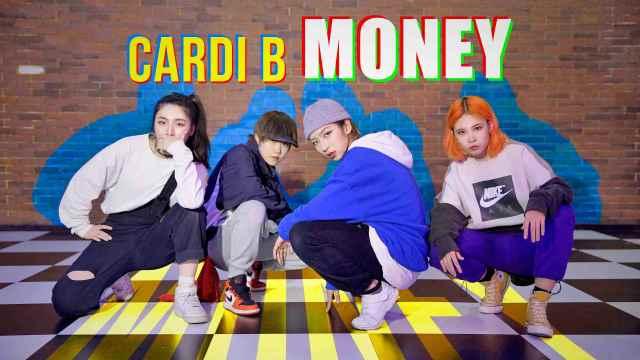 实力编舞Cardi B《Money》