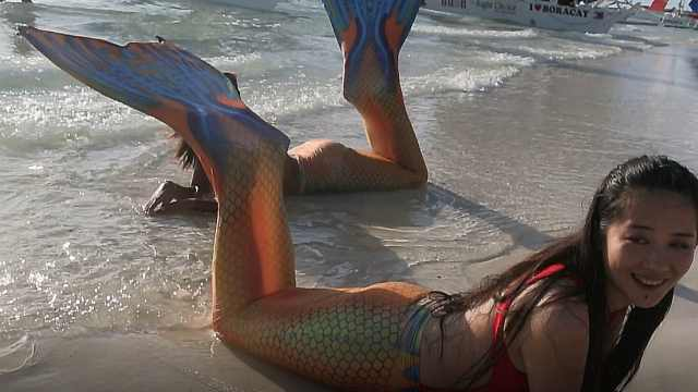 体验菲律宾长滩潜水游