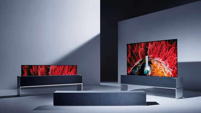 能卷起来的电视,售价13.6万