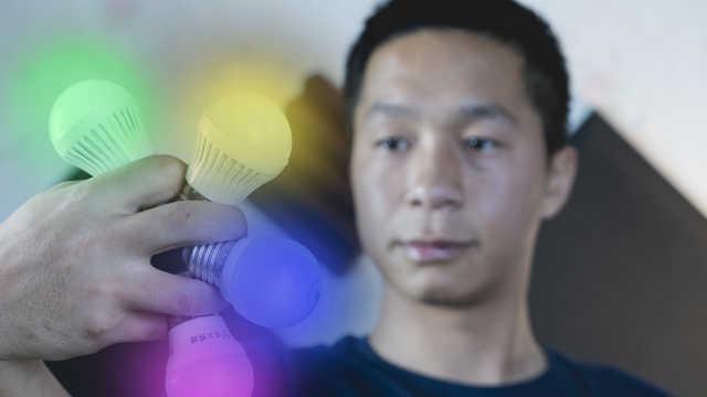 拍照拍视频高效利用低成本人造光线