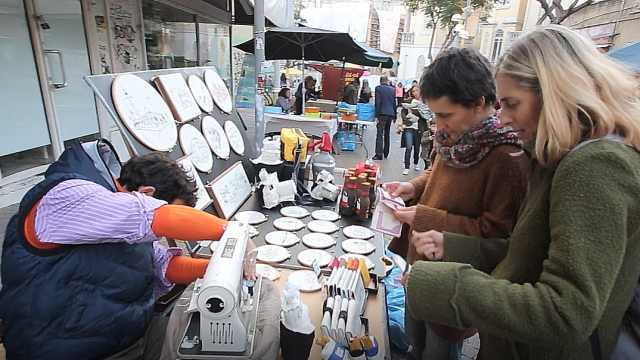探访以色列哪哈拉特·本雅明街