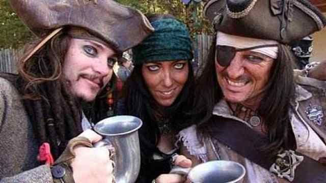 海盗戴眼罩,真是因为瞎吗?