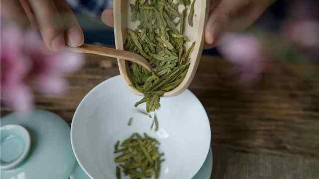 狮峰龙井骑火茶