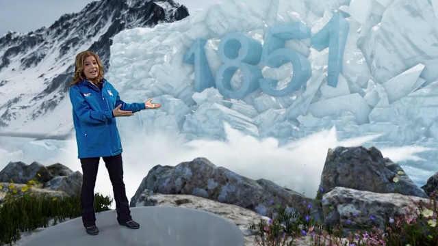 气象频道用游戏特效展现气候变化