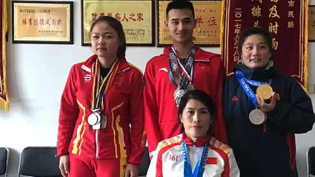 鞍山7名残疾人运动员入选国家队