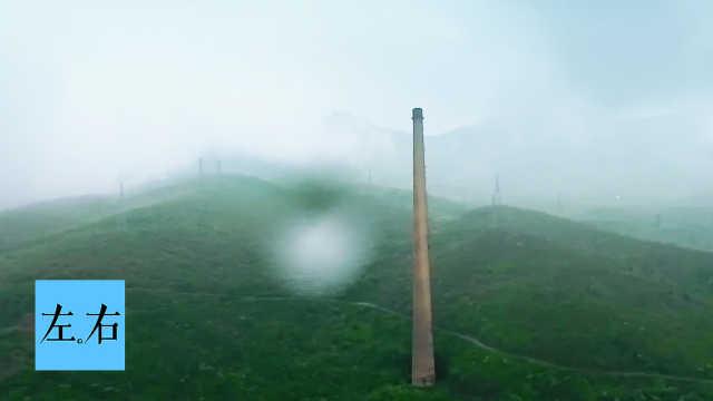 为隐蔽核基地,工人建烟囱迷惑敌机