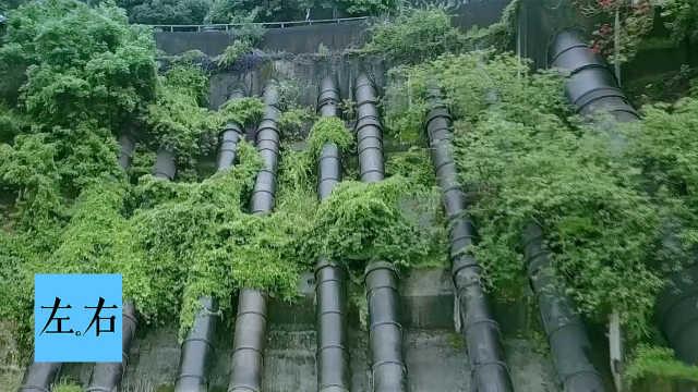 三线工人建造江泵可将乌江抽断航