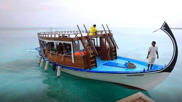 来一场马尔代夫原汁原味的海钓吧!
