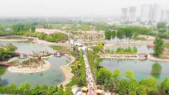 新城区新增四园!先一睹秀林园风采