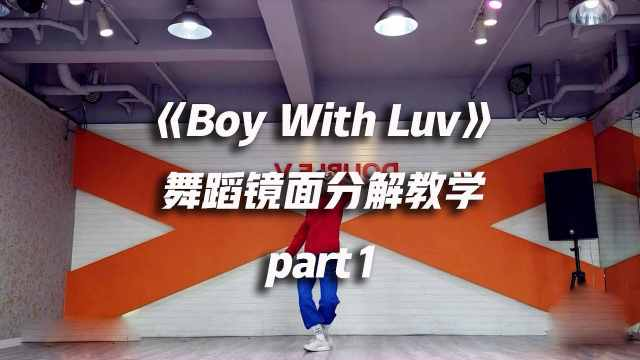 BTS《Boy With Luv》教学part1