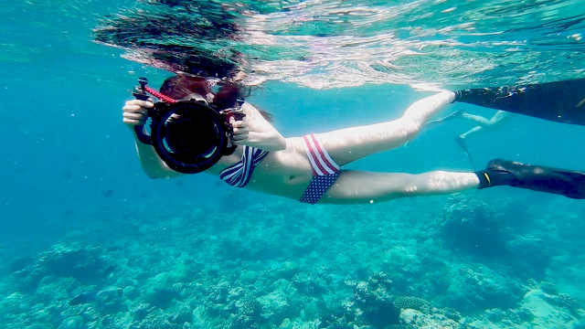 自由潜,水下漫游新姿势