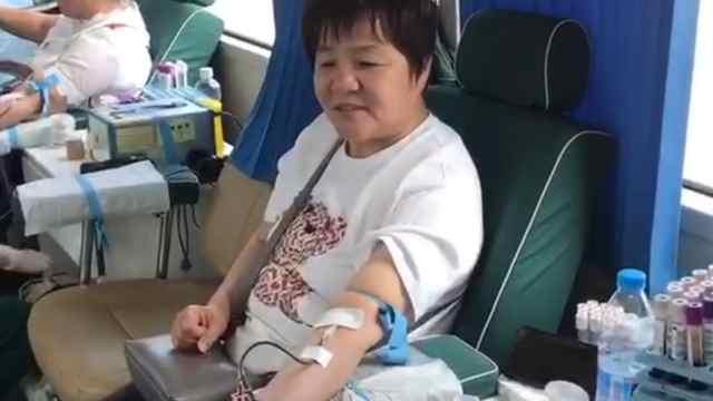 党员干部带头,村民踊跃无偿献血