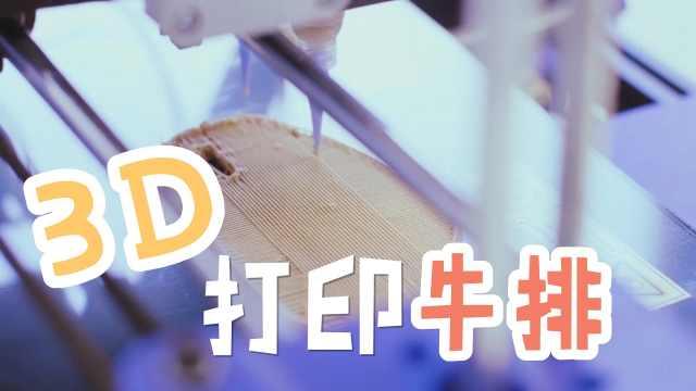 最新技术3D打印牛排看起来像块布