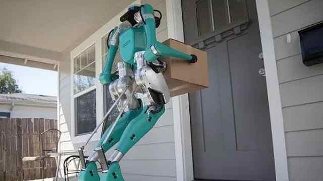 未来给你送快递的可能是机器人