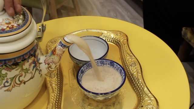 老兰州咸奶茶:入口茶香,回味奶香