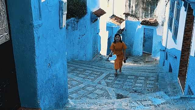 世界三大蓝城之一摩洛哥舍夫沙万