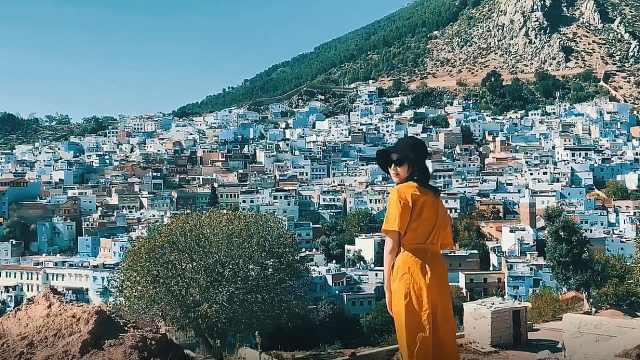 北非摩洛哥蓝色童话之城舍夫沙万