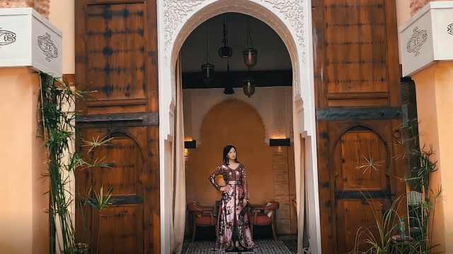 摩洛哥传统服饰究竟有多美?