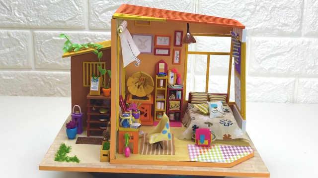 """DIY:拥有花园的一间""""小茅屋"""""""