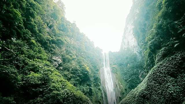世外桃源一般的旅游胜地通灵大峡谷