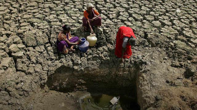 印度遭遇严重干旱,千万人面临缺水
