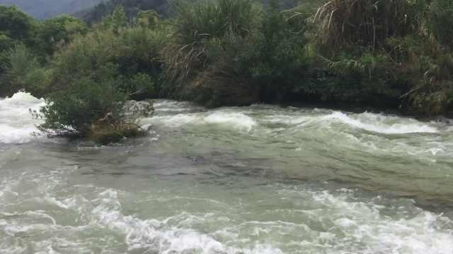在中越边境的归春河洗了一把脸